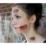 Easy Zombie Makeup Tattoo